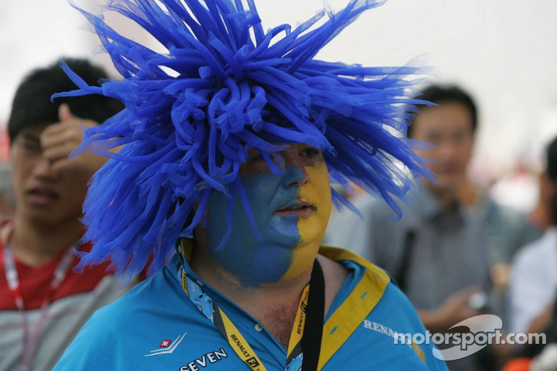 Un fan de Renault F1