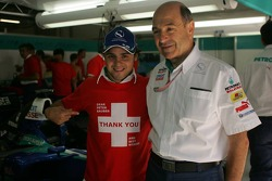 Felipe Massa bids farewell to Peter Sauber