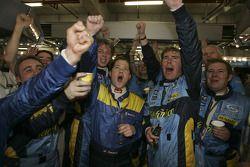 L'écurie Renault F1 fête son titre mondial