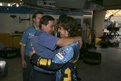 Fernando Alonso avec Patrick Faure