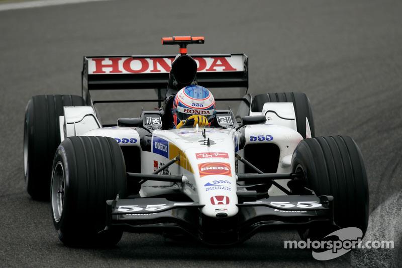 2005 - BAR 007 (Honda motor)