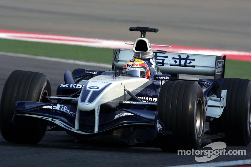Antonio Pizzonia - de 2003 a 2005 - 20 corridas