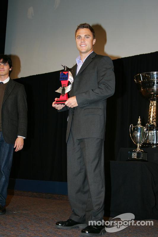 Infiniti Pro Series third place finisher Travis Gregg