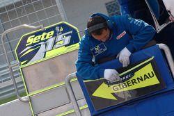 Gresini Racing team member