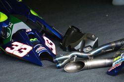 Gresini Racing pitbox
