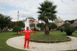 Carlos Checa visits Istanbul