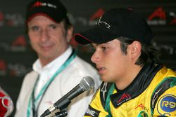 Press conference: Nelson A. Piquet