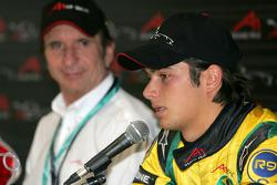Press conference: Nelson A. Piquet