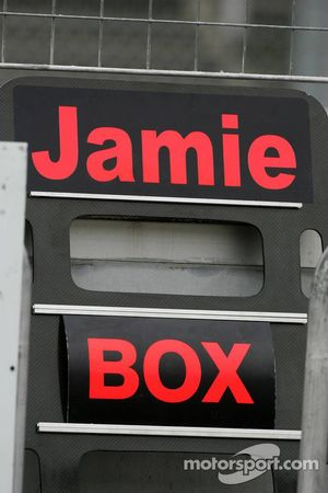 Pitboard of Jamie Green