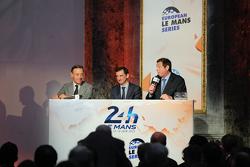 Gerard Neveu, baas van het WEC en Pierre Fillon, ACO-president