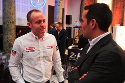 Olivier Pla de Nissan Motorsport y Benoit Treluyer de Audi Sport