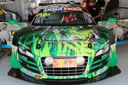 #16 Phoenix Racing Audi R8 LMS ultra: Felix Baumgartner, Christopher Haase, Stéphane Ortelli