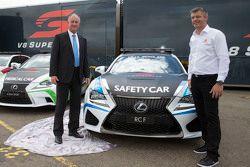 O novo Lexus RC F veículos de segurança
