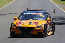 #91 MARC Cars Australia, Mazda 3 V8: Keith Kassulke, Jake Camalleri, Ivo Breukers