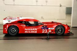 Engineers with the Nissan GT-R LM NISMO