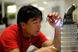 Ingénieurs de la Nissan GT-R LM NISMO