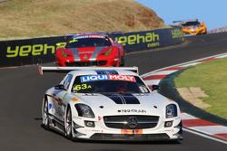 #63 Erebus Motorsport Mercedes SLS AMG GT3: Nathan Morcom, Austin Cindric, Simon Hodge