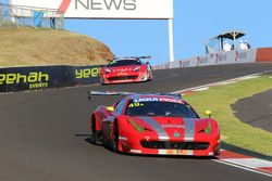 #49 Vicious Rumour Racing, Ferrari F458 Italia GT3: Benny Simonsen, Andrea Montermini, Renato Lobert