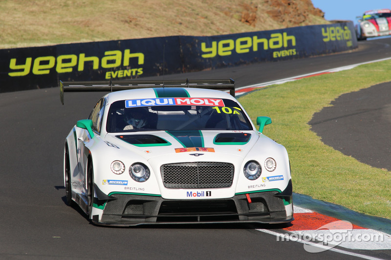 #10 Bentley Team M-Sport Bentley Continental GT3: Guy Smith, Steven Kane, Matt Bell