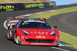 #27 TFM Ferrari Motorsport NZ, Ferrari F458 Italia GT3: Jono Lester, John McIntyre, Graeme Smyth