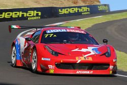 #77 AF Corse, Ferrari F458 Italia GT3: Steve Wyatt, Michele Rugolo, Davide Rigon