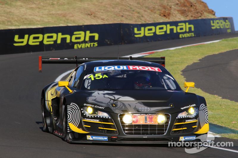 #15 Phoenix Racing, Audi R8 LMS ultra: Marco Mapelli, Laurens Vanthoor, Markus Winkelhock