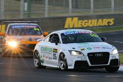 #55 Kintyre Racing Audi TT RS 2.5 Turbo: Glyn Crimp, Stuart Kostera, Matthew Cherry