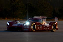 Olivier Pla teste la Nissan GT-R LM NISMO