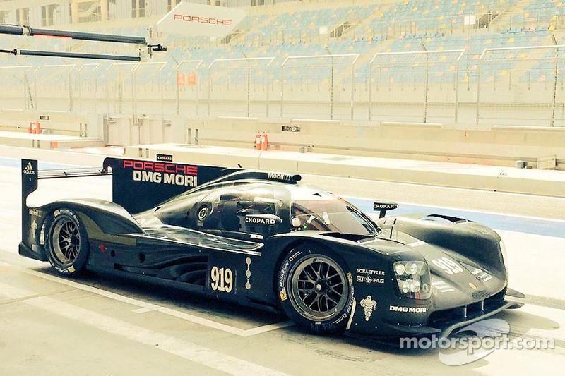 Porsche 919 Hybrid en test