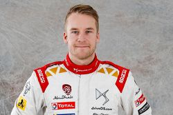 Mads Ostberg, Citroen Total Abu Dhabi World Rally Team