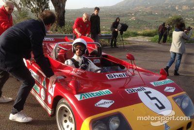 Daniel Ricciardo auf den Spuren der Targa Florio