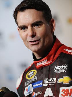 Jeff Gordon, del equipo Hendrick Motorsports Chevrolet