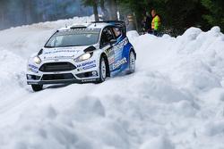Henning Solberg和Ilka Minor, 福特Fiesta WRC