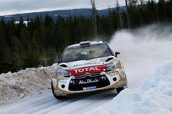 Mads Ostberg und Jonas Andersson, Citroën DS3 WRC, Citroën Total Abu Dhabi World Rally Team