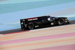 Porsche LMP1 en test au Bahrain