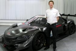 Oliver Turvey con l'entrata Honda Super GT
