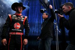 Austin Dillon, Richard Childress Racing Chevrolet with Getty Images photographers Brian Lawdermilk and Jared C. Tilton