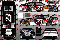 Maxim sponsorise BK Racing, JJ Yeley