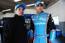 Trent Owens and Aric Almirola, Richard Petty Motorsports Ford