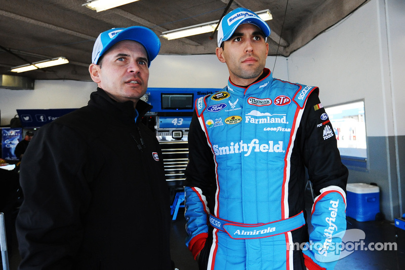 Trent Owens and Aric Almirola, Richard Petty Motorsports