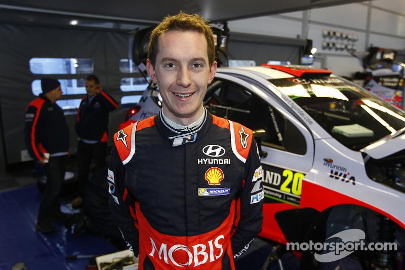 Sebastian Marshall, Hyundai i20 WRC, Hyundai Motorsport
