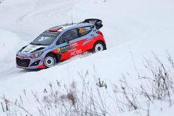 Kevin Abbring y Sebastian Marshall, Hyundai i20 WRC, Hyundai Motorsport
