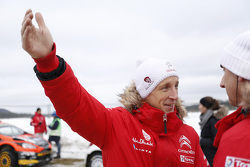 Kris Meeke et Paul Nagle, CitroÎn DS3 WRC, Citroen Total Abu Dhabi World Rally Team