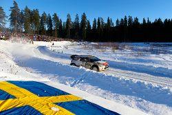 Mads Ostberg e Jonas Andersson, Citroen DS3 WRC, Citroen Total Abu Dhabi World Rally Team