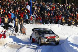 Kris Meeke et Paul Nagle, Citroen DS3 WRC, Citroen Total Abu Dhabi World Rally Team