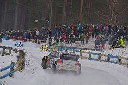 Sebastien Ogier und Julien Ingrassia, Volkswagen Polo WRC, Volkswagen Motorsport