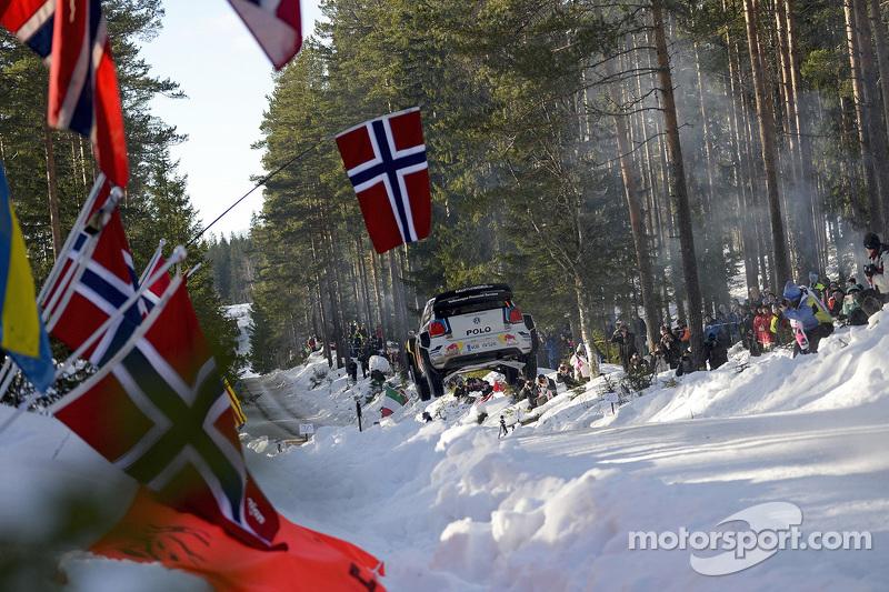 Sebastien Ogier y Julien Ingrassia, Volkswagen Polo WRC, Volkswagen Motorsport