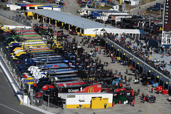 NASCAR Cup garage