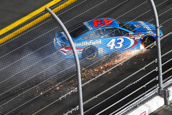 Aric Almirola, Richard Petty Motorsports Ford in trouble
