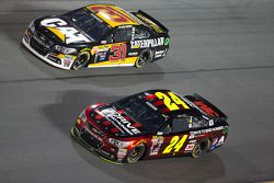 Ryan Newman, Richard Childress Racing Chevrolet, Jeff Gordon, Hendrick Motorsports Chevrolet